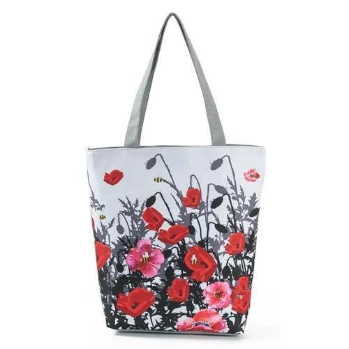 Various Styles Canvas Tote Beach Bags - BargainTown