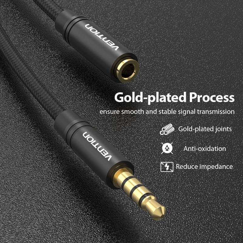 3.5 mm AUX Audio Extension Cable Male to Female Afterpay - BargainTown