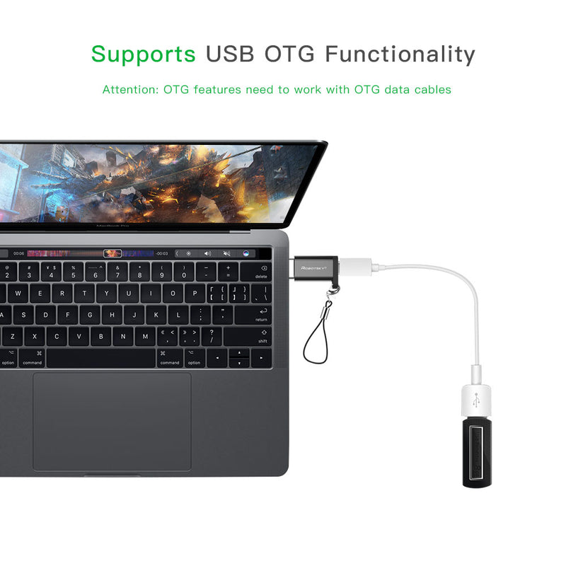 USB Type-C Male to Micro USB Female Adapter - BargainTown