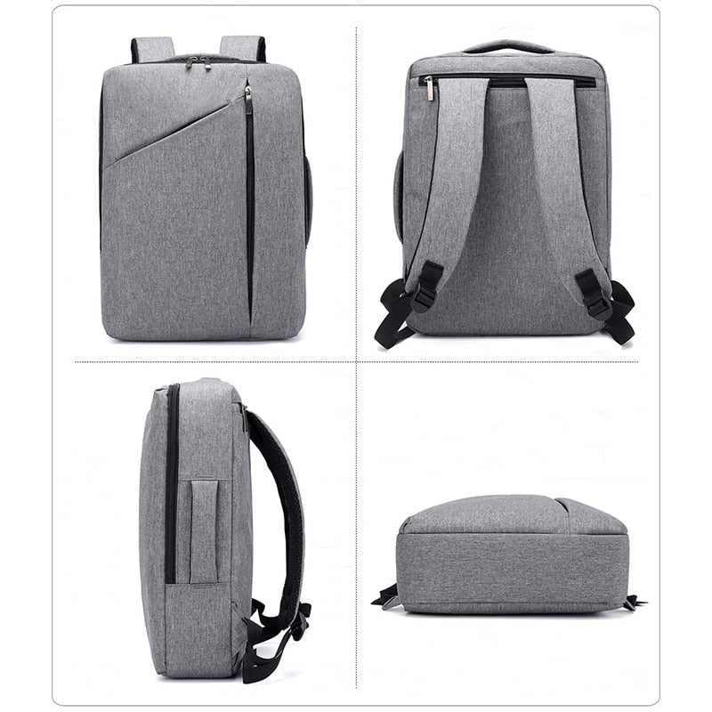 Oxford Anti Theft Business Travel Backpacks - BargainTown