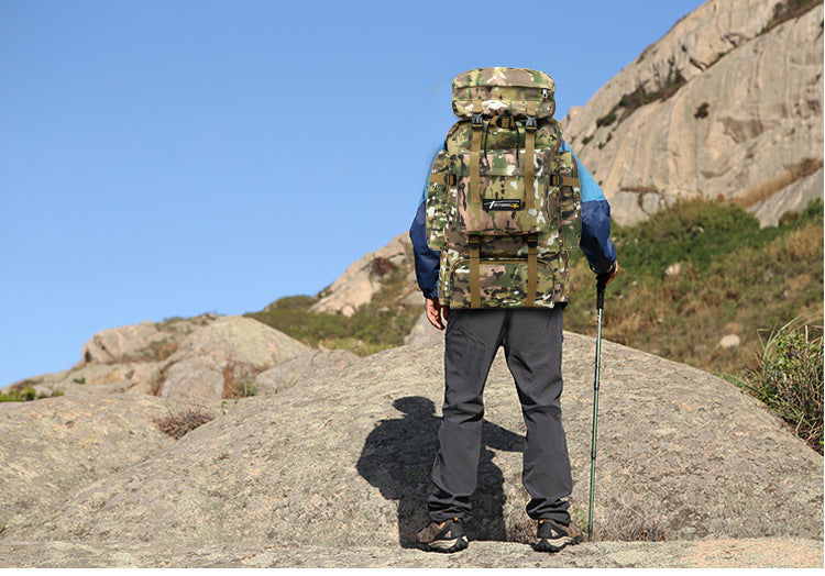 Ultimate Waterproof Tactical Hiking Backpack - BargainTown