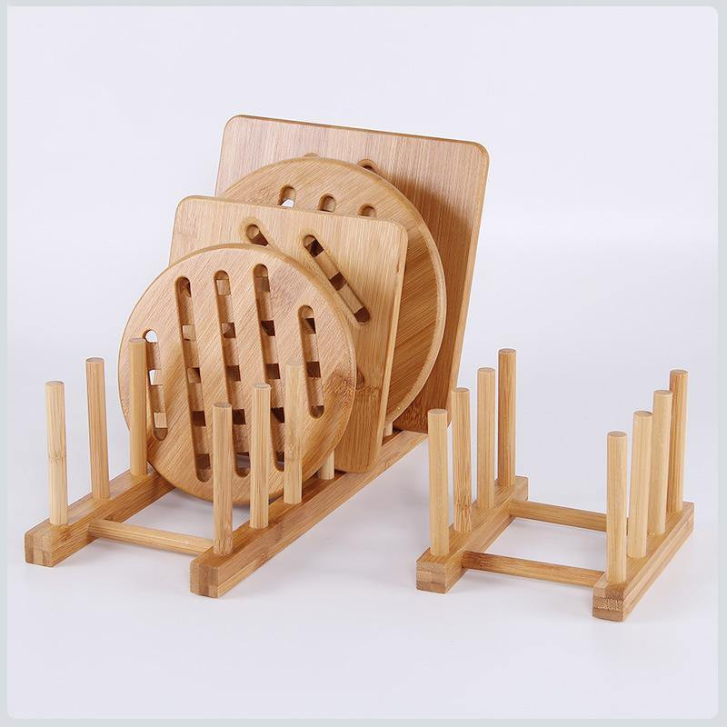 3/6 Layer Bamboo Dish Rack - BargainTown