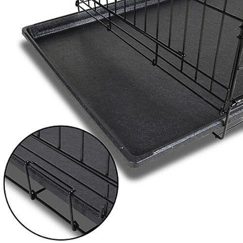 Collapsible Pet Dog Metal Puppy Crate/Kennel - BargainTown