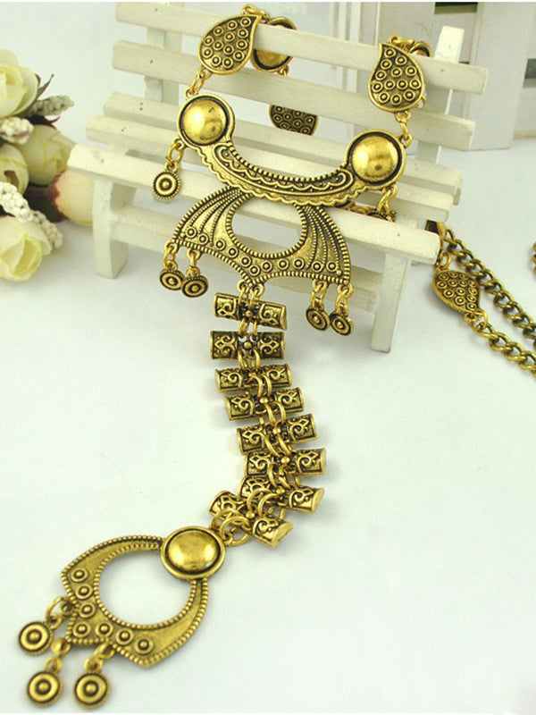 Domineering Insect Shape Alloy Necklace