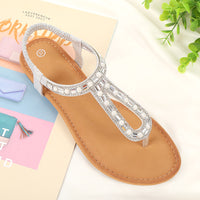 Summer Bohemian Flat Shoes Women's Sandals Large Size Women's Shoes Ladies Sandals Flat