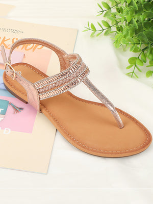 TPR Soft Bottom Sandals Women's Non-slip Shoes