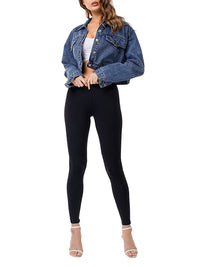 Short Personality Fashion Denim Jacket