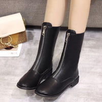 Net Red Martin Boots Female British Wind Wild Students Autumn Boots Retro Chic Tube Boots