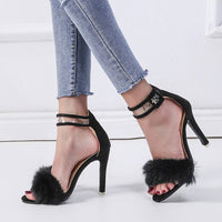 Super High Heel Women's Shoes with Large Size Sandals