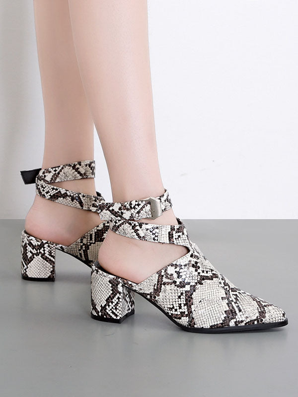 Summer New Fashion Wild Baotou Women's Shoes High-heeled Thick with Women's Sandals