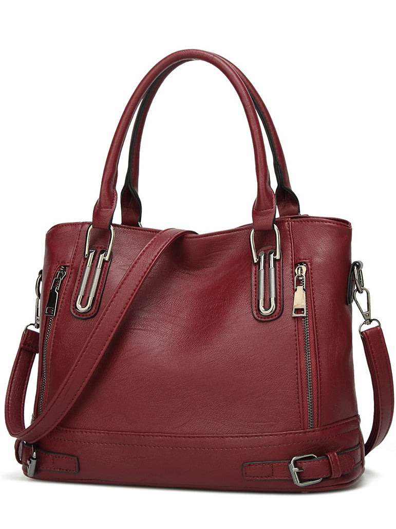 Women's Zipper Travel Bag Shoulder Messenger Bag