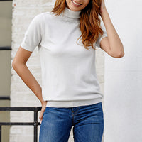 Turtleneck High Neck Nlim Knit T-shirt Sweater Bottoming Shirt
