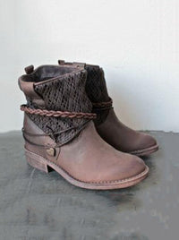 Autumn and Winter New Short Tube Women's Boots Fashion