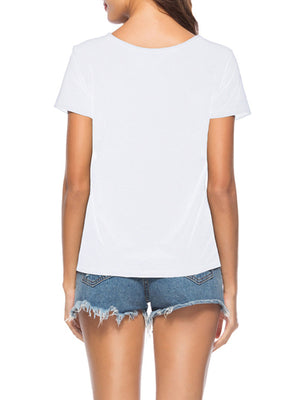 Sexy Embroidered Top T-shirt