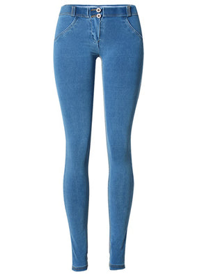 Super Stretch Comfortable Low Waist Denim Trousers
