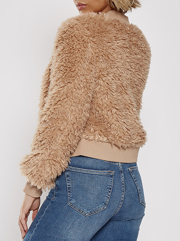Lamb Wool Short Fall / Winter Coat