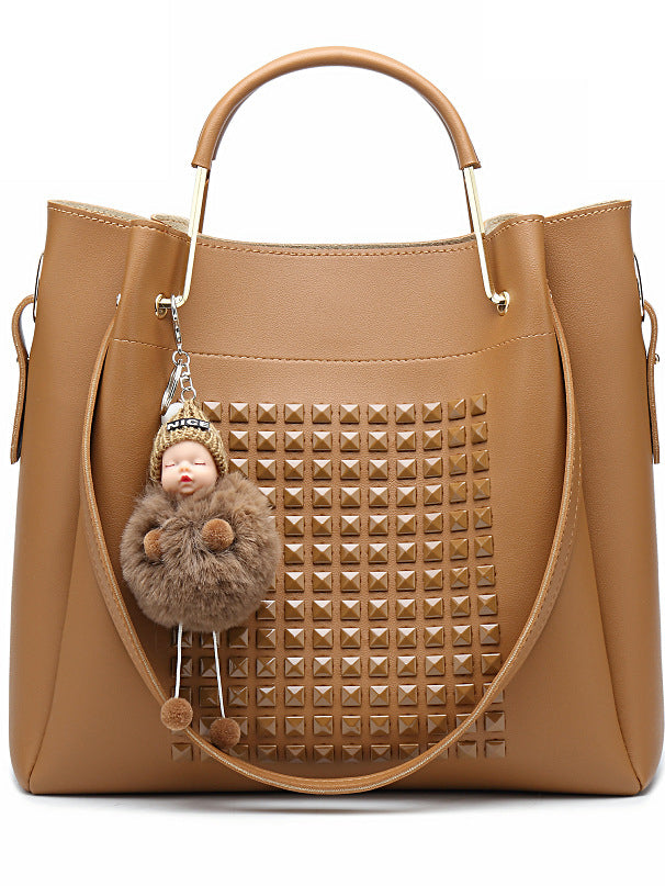 Women New Doll Charm Handbag