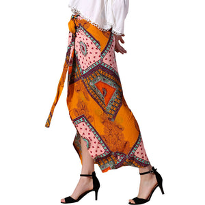 Fashion Women's Printed Bohemian Skirt
