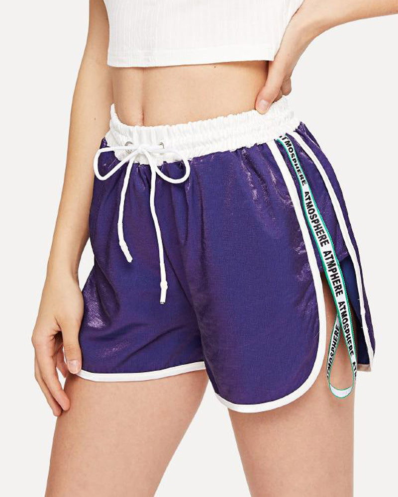 New Striped Casual Sports Shorts