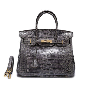 Platinum Bag Fashion Single Shoulder Diagonal Women's Bag Crocodile Leather Female Handbag