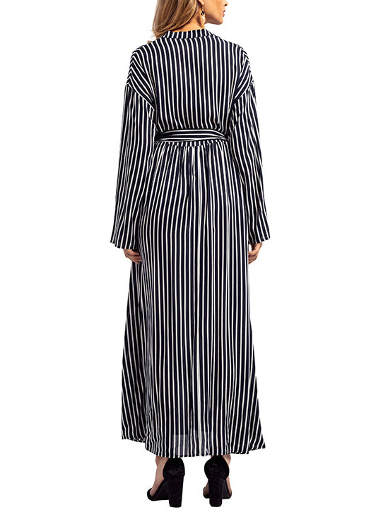 Muslim Large Size Long Shirt Commuting Maxi Dress