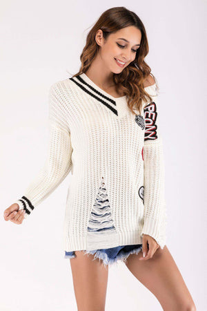 Autumn and Winter Wild Soft Loose Bottoming Sweater Women's New Long-sleeved Sweater