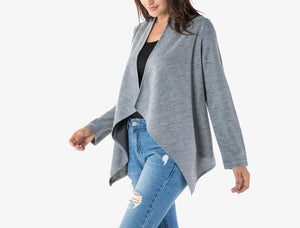 Long Sleeved Solid Color Casual Shirt