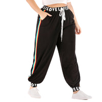 Large Size Women's Sports Pants Fitness Casual Pants