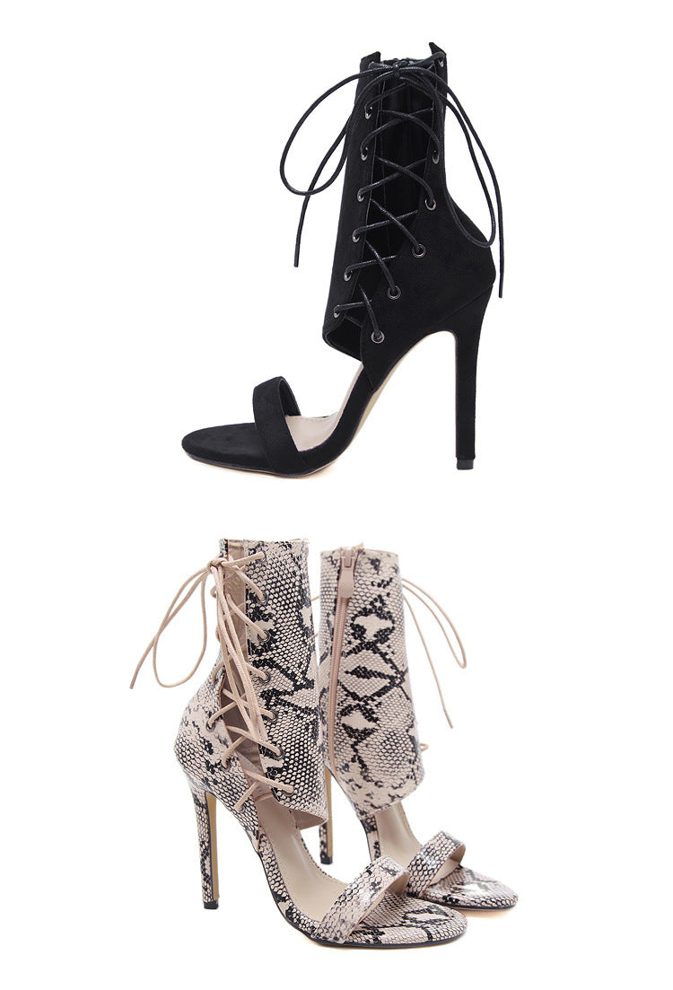 Summer High Heels Sexy Hate High Boots Cool Roman Stiletto Fashion Sandals