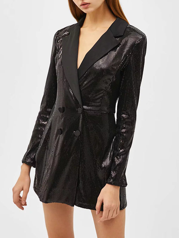 Sequined OL Commuter Small Blazer