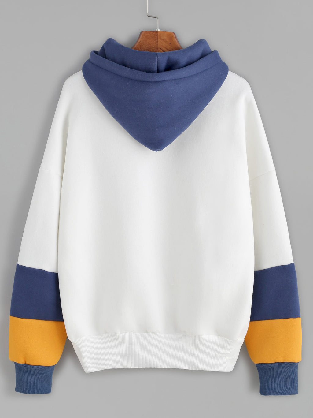 Hooded Long Sleeve Printed Sweatshirt
