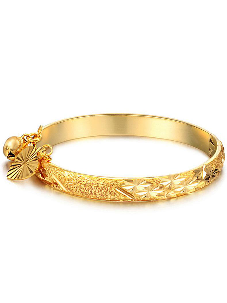 Children's Electroplating 18K Gold Bracelet