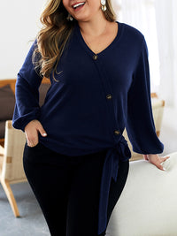 Plus Size Women's Sweater Cardigan