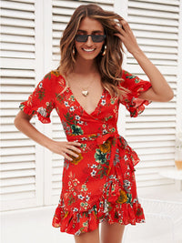 Summer Women's Short Sleeve Dress