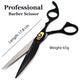 Saaqaans MSS-01 Professional Hairdressing Scissors Set (Black)