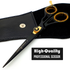 Saaqaans SQR-01 Professional Hairdresser Scissors (Black)