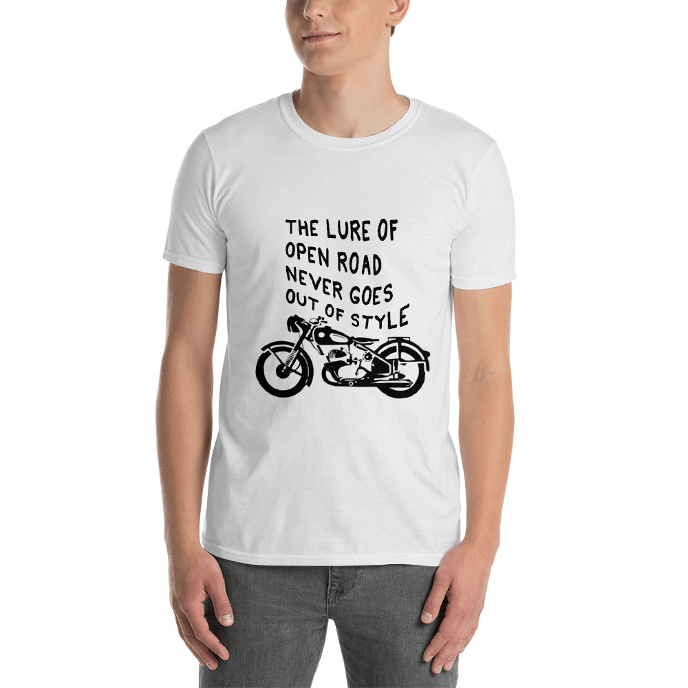 Motorcycle Lover Premium White T-shirt