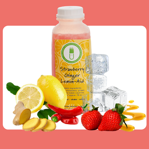 Strawberry Ginger Lemon-Aid