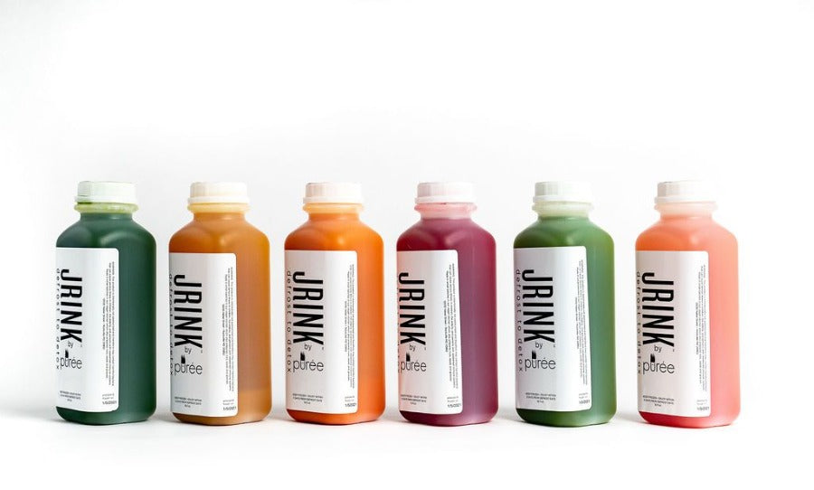 JRINK by Purée Immunity Reboot is organic, raw and cold-pressed.