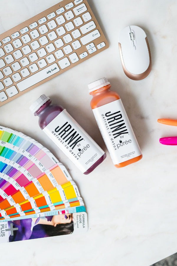 Jrink by Purée is an organic, raw, cold-pressed juice shipping service, delivering all over the United States.