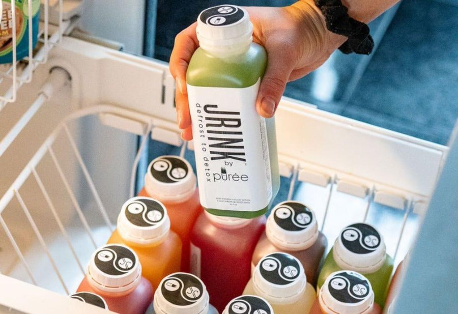 JRINK by Purée organic, raw, cold- pressed juice company ships frozen juice all over the USA!