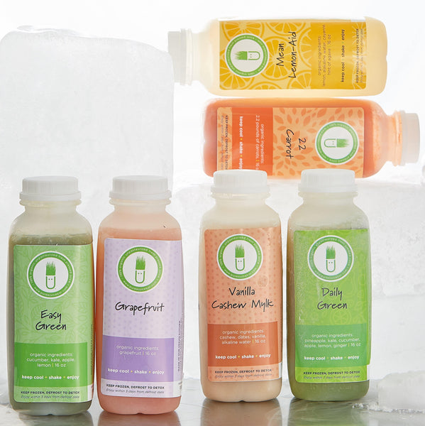 Organic Cold-Pressed Progressions Cleanse. No HPP, Raw, Organic, Weight Loss