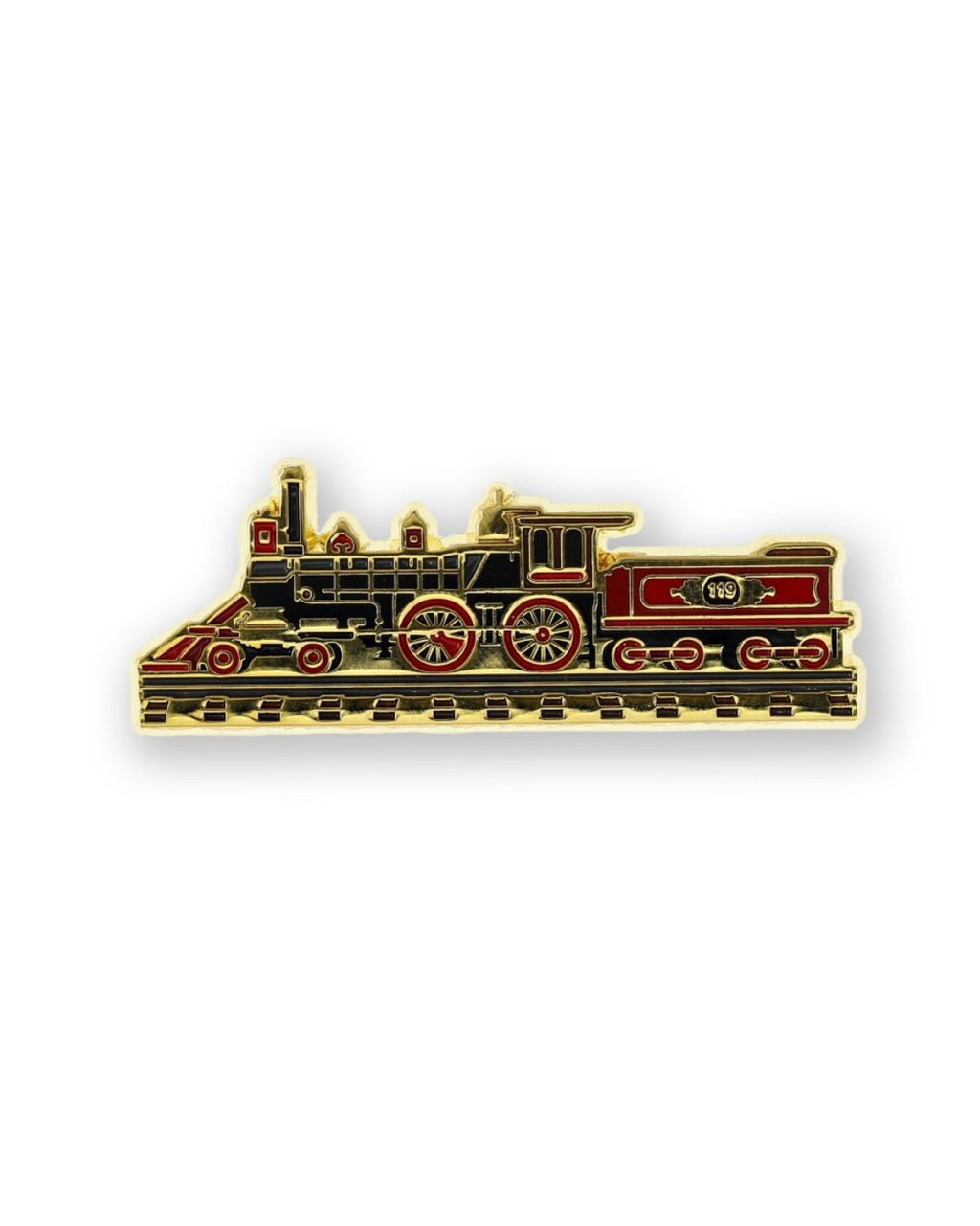 119 Train Color Lapel Pin