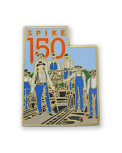 African American Railroad Worker Lapel Pin