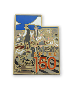 Civil War Railroad Worker Lapel Pin
