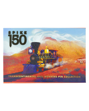 Collector's Edition Railroad Worker Lapel Pin Box Set