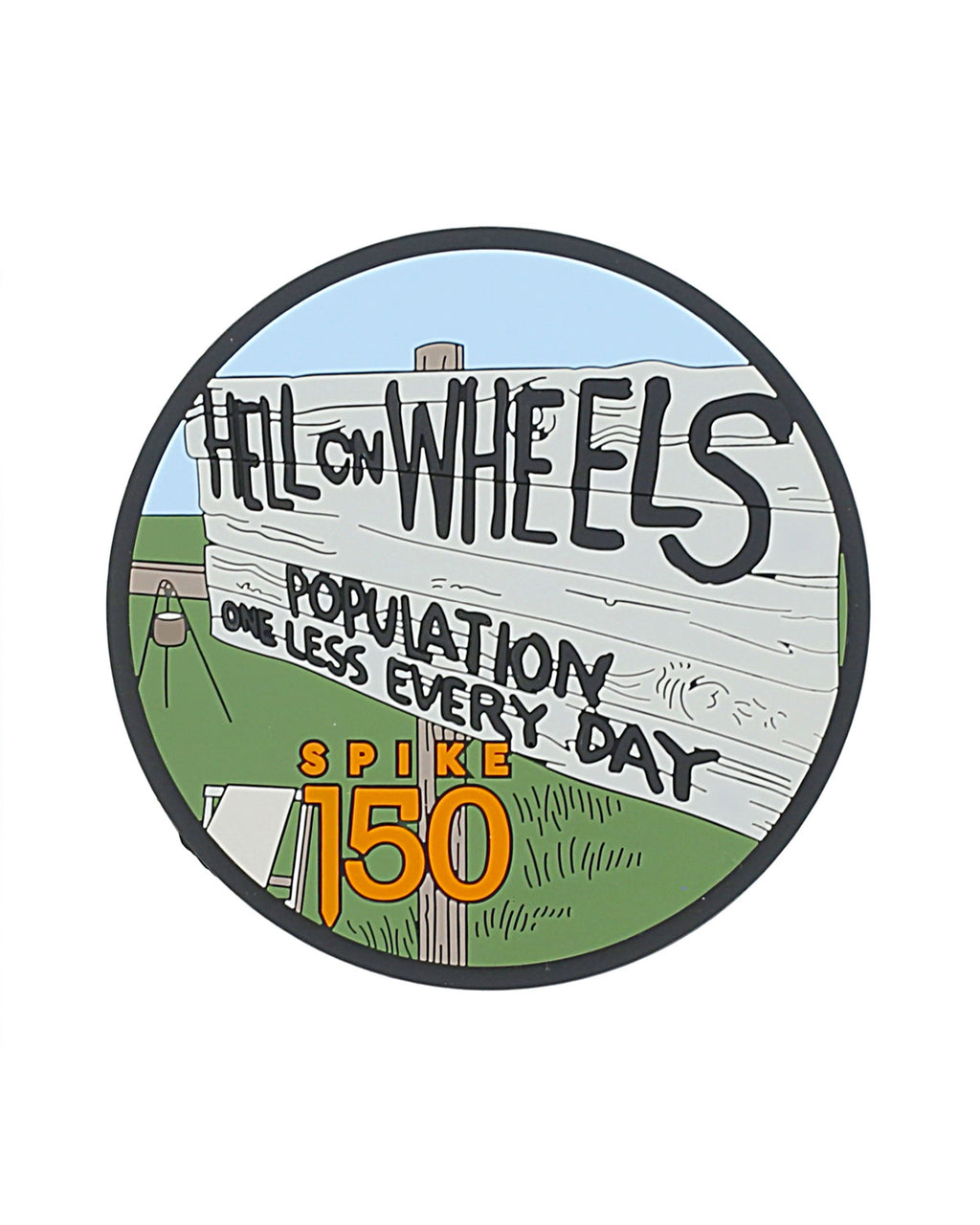 Hell on Wheels Coaster