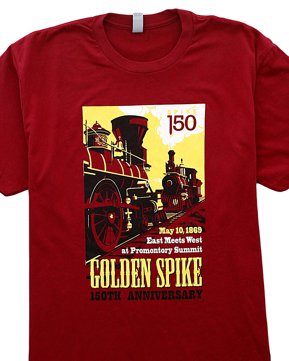"Men's ""Golden Spike National Historic Site"" T-Shirt"