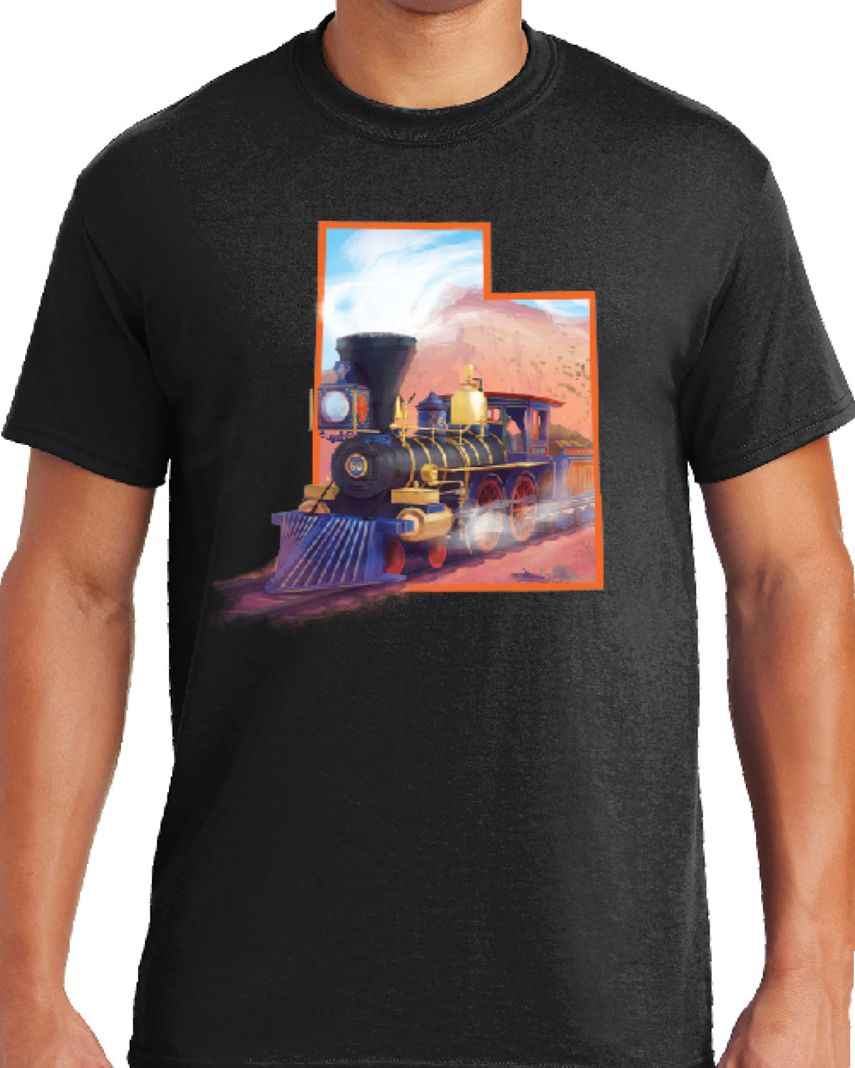 Jupiter Train in Utah State T-Shirt