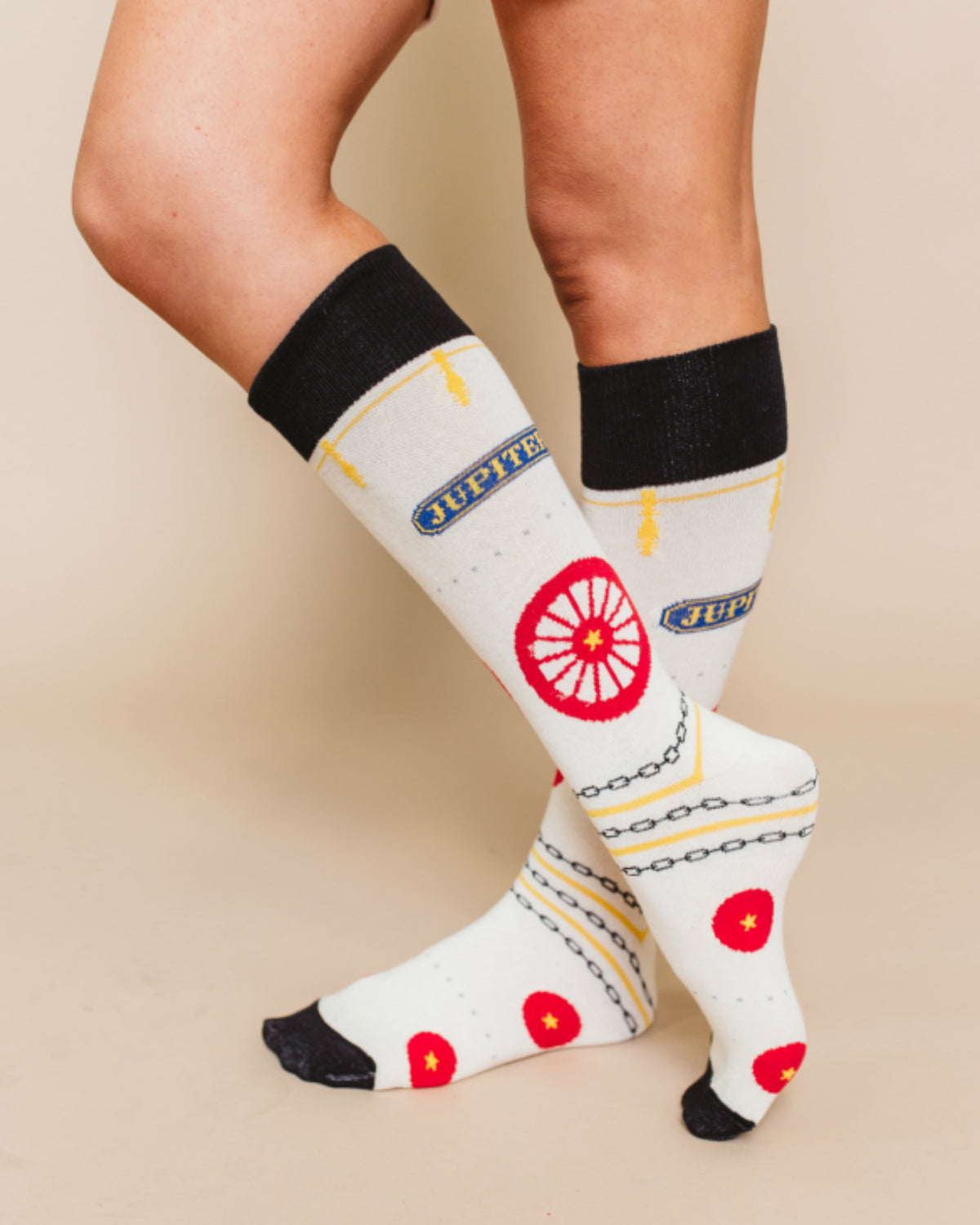 Jupiter Train Socks